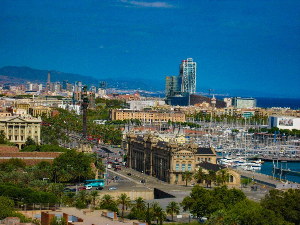 Barcelona Port Vell Mirador de Colon