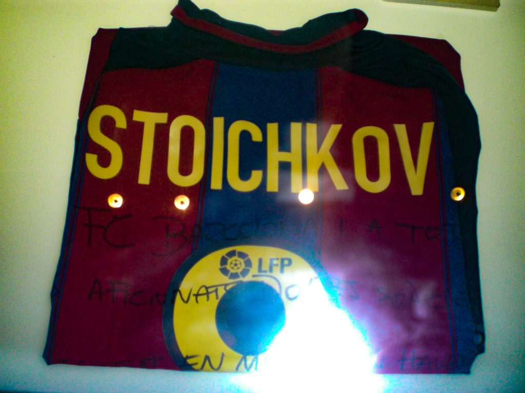 Camp Nou Barcelona Stoichkov