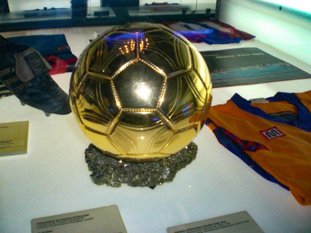 Stoichkov Golden Ball
