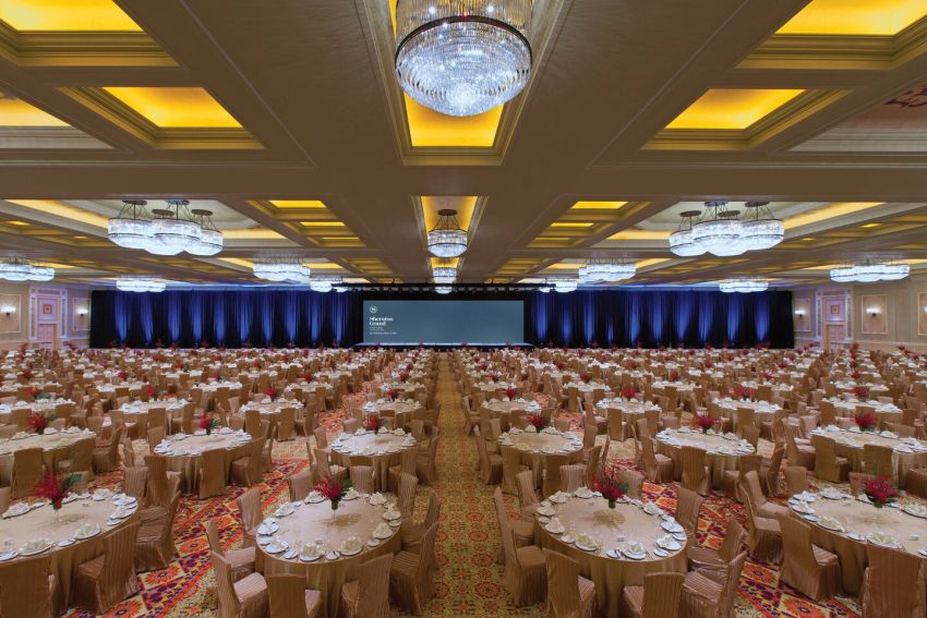 Sheraton Grand Macao Kashgar ballroom Marriott