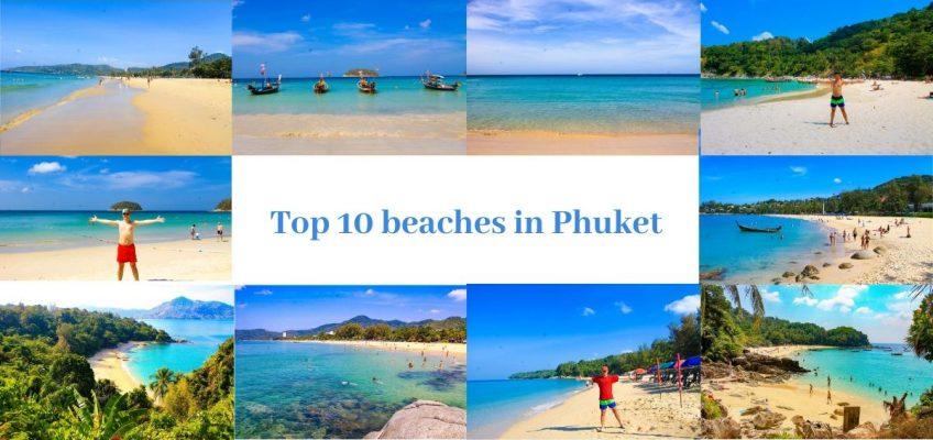 Top 10 beaches in Phuket