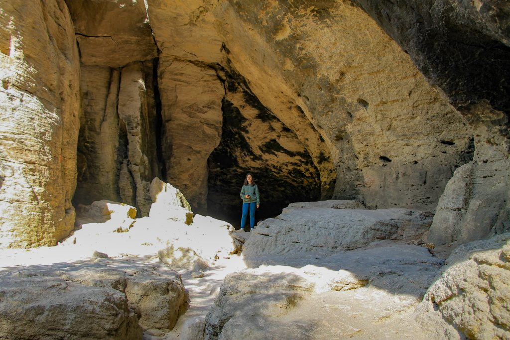 Small cave Madara Rider