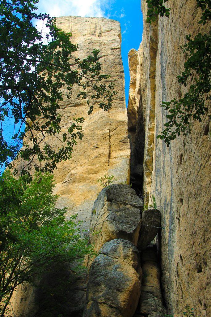 Crevice nearby Madara Rider