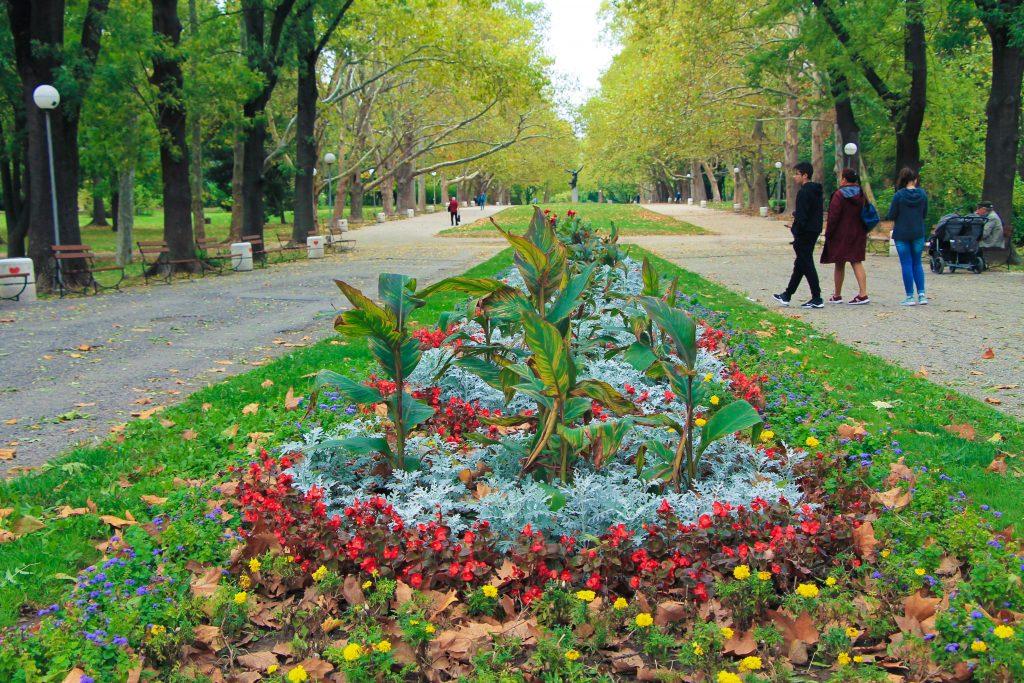 Парка на младежта в Русе
