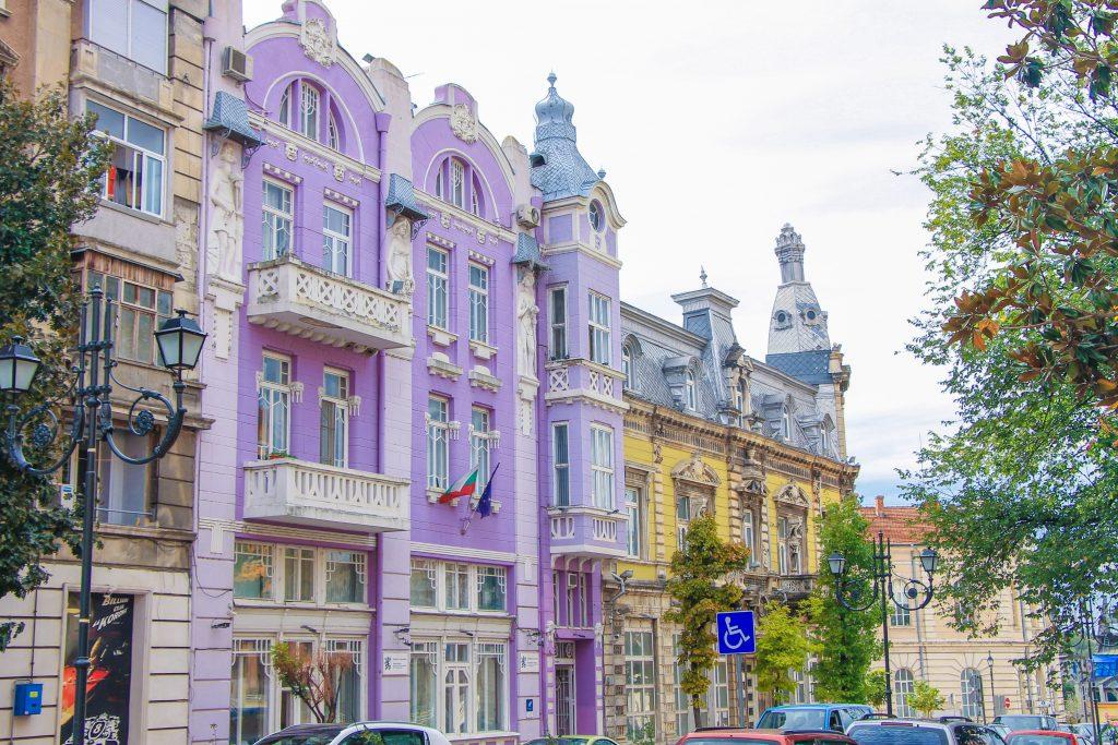Историческите сгради на Русе