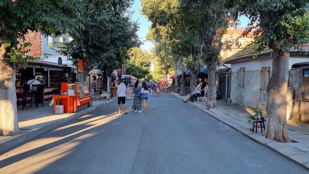 Ahtopol pedestrian street