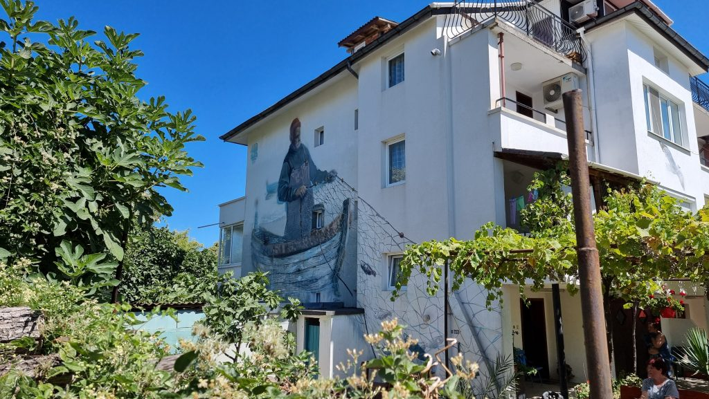 Artistically Painted Ahtopol houses