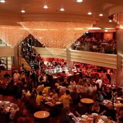 Carnival Breeze ресторант Sapphire