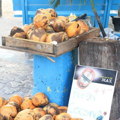Така продават кокосовите орехи във Филипсбърг