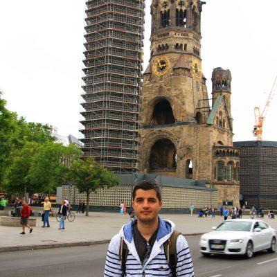Църквата Kaiser Wilhelm Memorial внесе изключителна тъга в душата ми