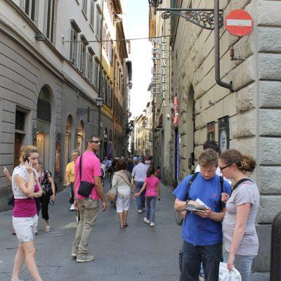 из уличките на Флоренция