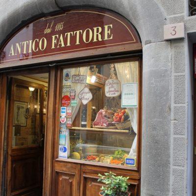 Стека ми по Флорентински на витрината