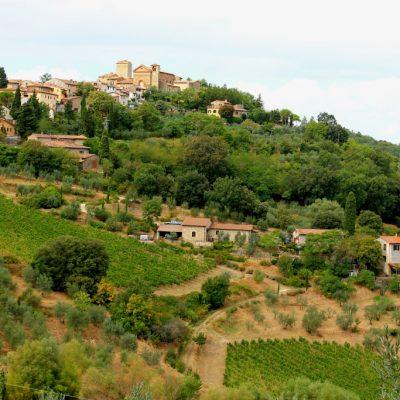 Виа Киантиджана - един от най-живописните маршрути в Италия, който свързва Флоренция със Сиена