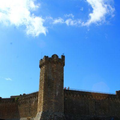 Крепостта в Монталчино построена през 13в.
