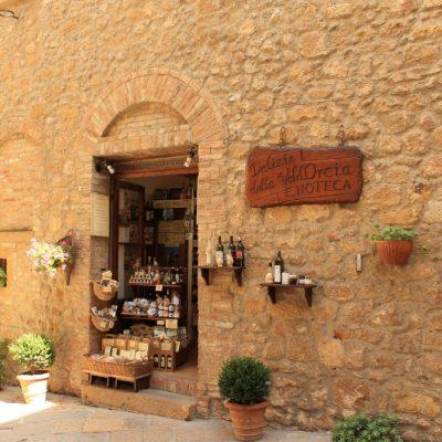Пекорино тоскано в Пиенца, Тоскана