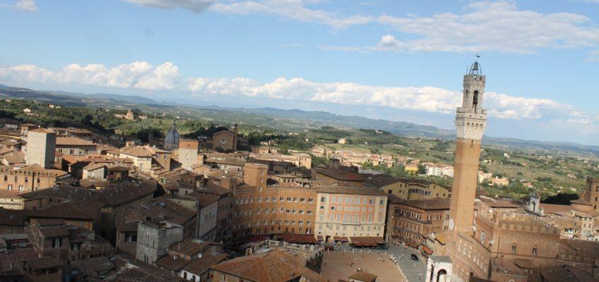 Siena and Piazza del Campo