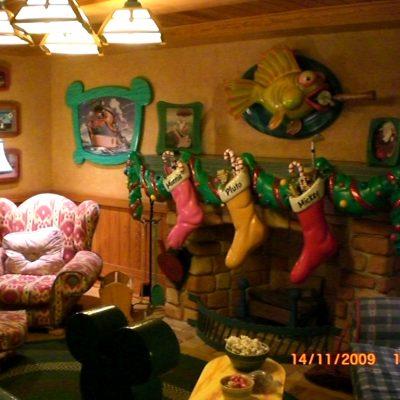 в къщата на Мики Маус