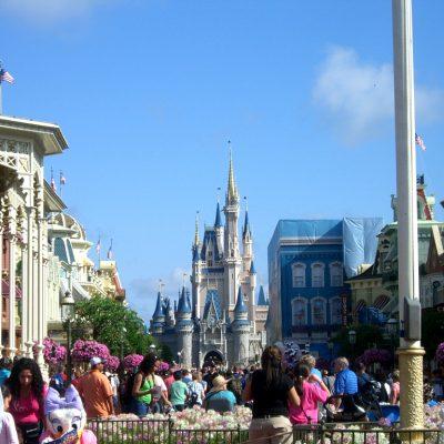 главната улица на Magic Kingdom