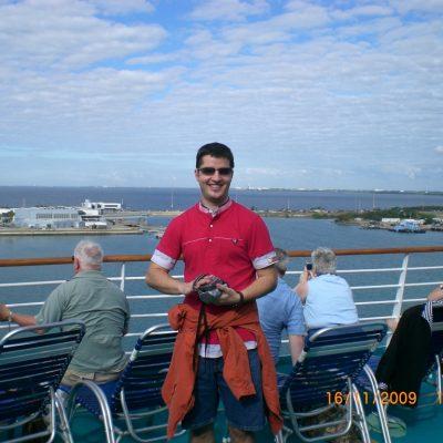 На борда на Monarch of the seas в очакване на изстрелването на Атлантис