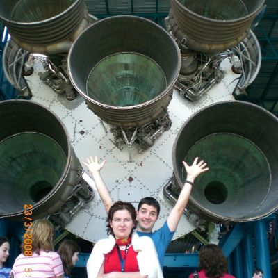 Пред двигателите на Сатурн 5 - най-дългата ракета в света