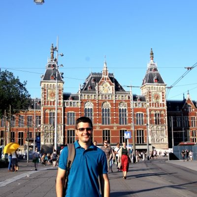Централната гара в Амстердам