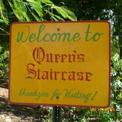 Стълбището на кралицата, в Насау, Бахамите