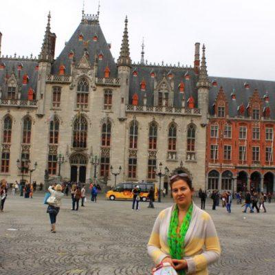 Provincial Palace - двореца на Губернатора в Брюж