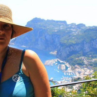 Панорама от вила Сан Микеле към Капри