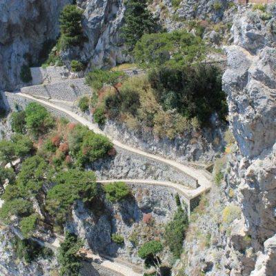 Пътеката на Круп на остров Капри