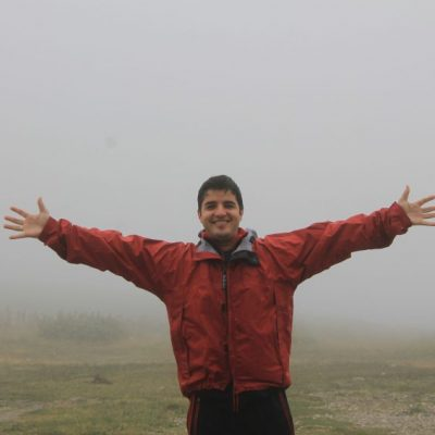 Пред хижа Рилски езера