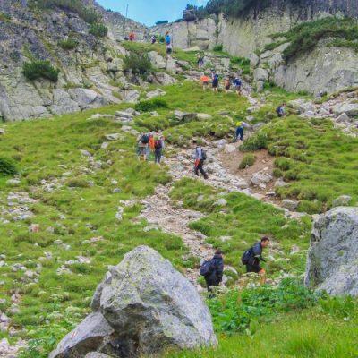 Пътеката от хижа Мальовица към Елениното езеро