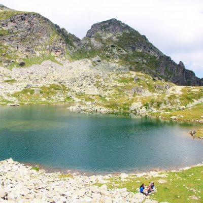Елениното езеро под връх Мальовица