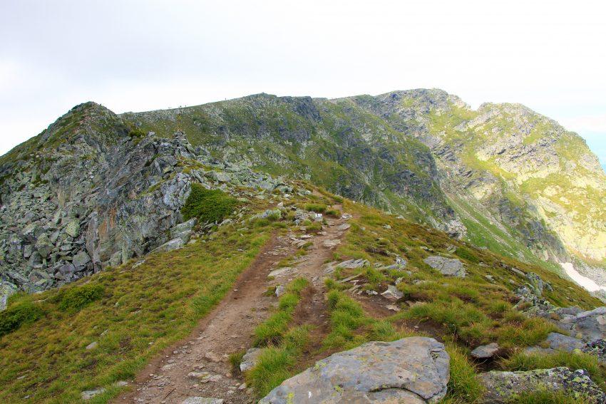Билото на Млаьовица и самия връх Мальовица в края на билото